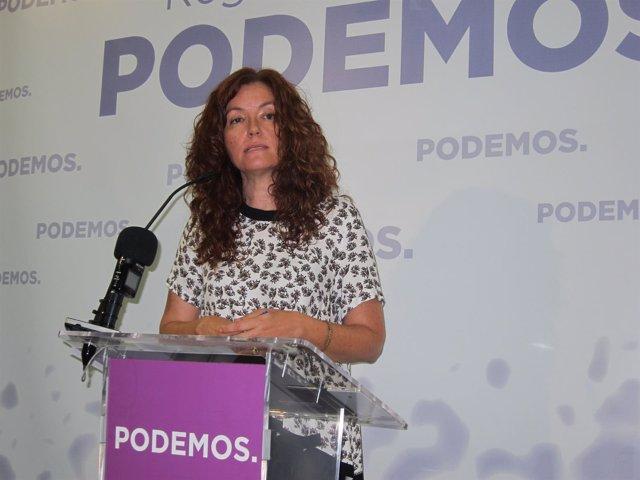La diputada regional de Podemos Región de Murcia, M. Ángeles García Navarro
