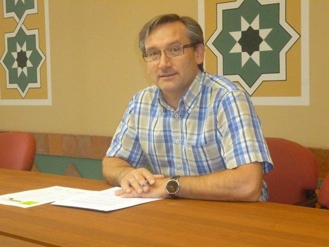 Joaquín Juste, en la presentación de lso cursos