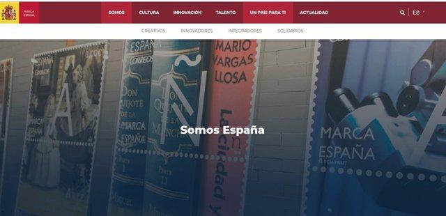Página web de Marca España