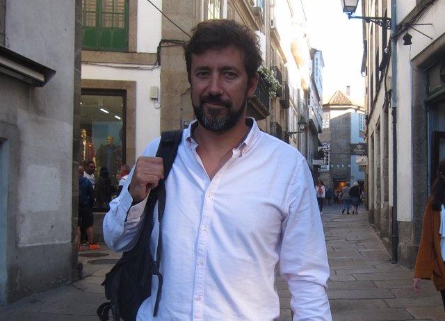 El diputado de En Marea en el Congreso Antón Gómez-Reino