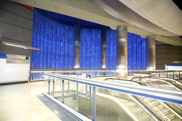 Estación de Metro en Chamartín