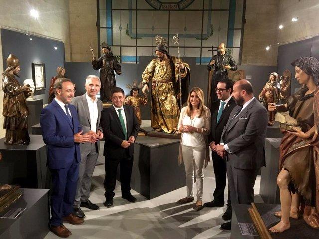 Inauguración de exposición sobre Martínez Montañés en Alcalá la Real (Jaén)