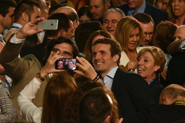 Casado en el Congreso Regional del PP C-LM