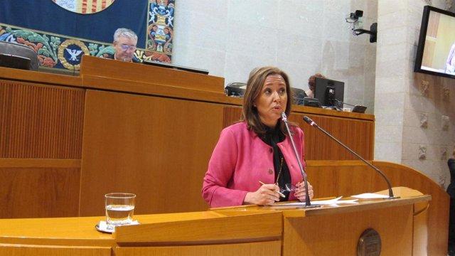 La consejera de Educación. Mayte Pérez