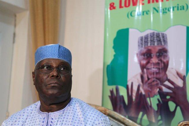 Ex vicepresidente de Nigeria, Atiku Abubakar