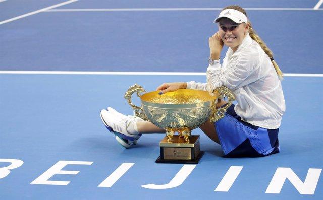 Caroline Wozniacki campeona Pekín