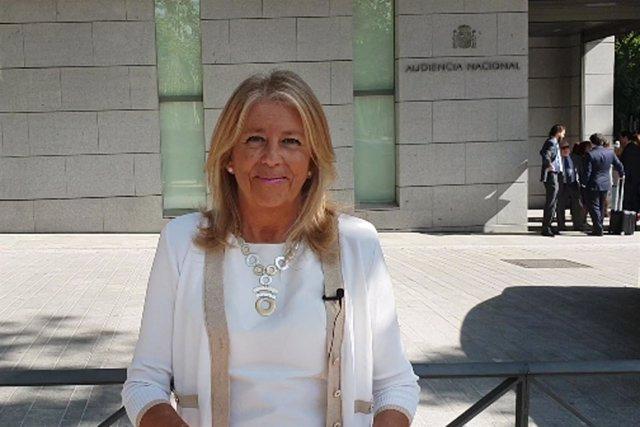 Alcaldesa de Marbella, Ángeles Muñoz ,