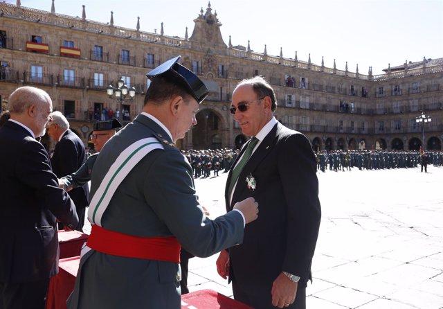 Fotonoticia / Ignacio Galán, Cruz De Plata Del Mérito De La Guardia Civil