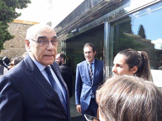 El presidente de la Fundación del Gran Teatre del Liceu, Salvador Alemany