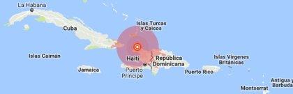 Al menos 14 muertos y más de 100 heridos tras un terremoto de magnitud 5,9 en el norte de Haití