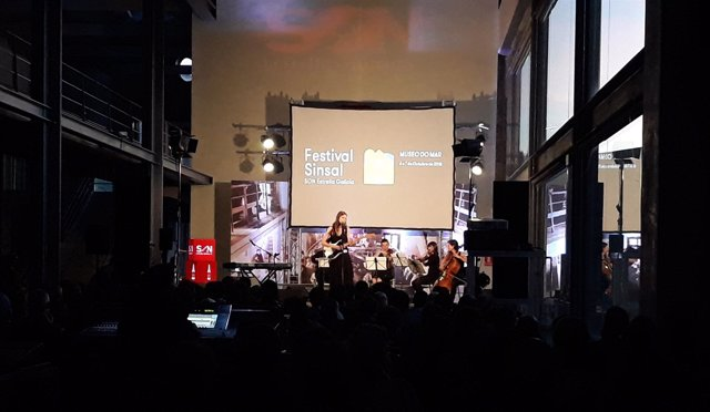 Concierto de JFDR String Quartet en el Sinsal en el Museo do Mar. 2018