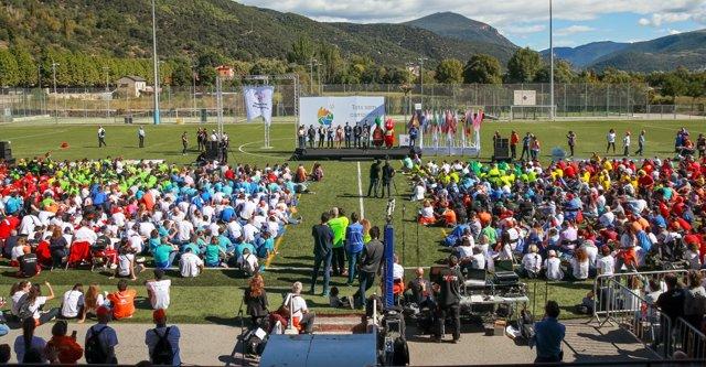 Los Special Olympics clausuran con éxito tanto dentro como fuera de las pistas