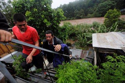 Al menos 12 muertos por las lluvias torrenciales en América Central