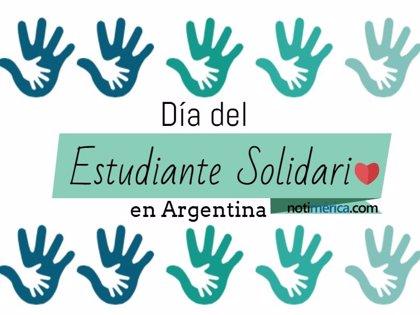 8 de octubre: Día del Estudiante Solidario en Argentina, ¿por qué se conmemora hoy esta efeméride?