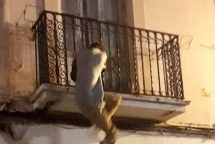 Detenido en València tras ser sorprendido intentando entrar a una casa por el balcón