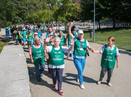 Cerca de 12.000 participantes de 'Kms para recordar' recorren 100.000 kilómetros para luchar contra el Alzhéimer
