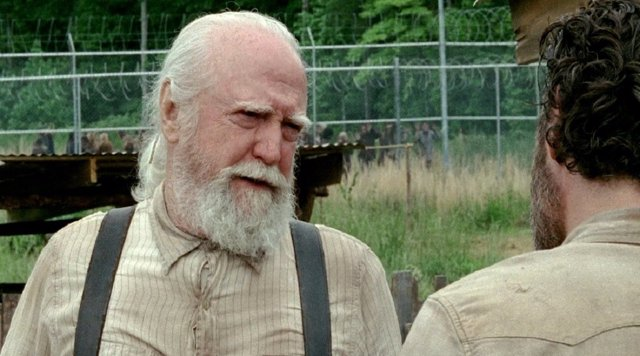 Scott Wilson en The Walking Dead