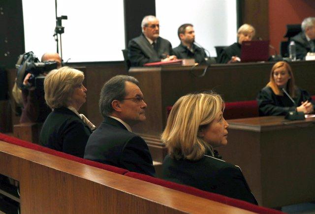 Juicio a Artur Mas, Ortega y Rigau por el 9N