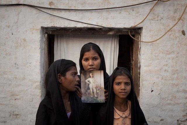 La cristiana pakistaní condenada a muerte acusada de blasfemia, Asia Bibi.
