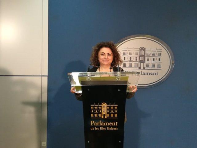 La diputada de MÉS per Mallorca Joana Aina Campomar