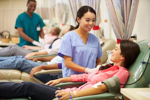 Donación, donar sangre