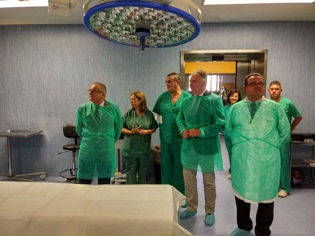 El Hospital Infanta Elena culmina la renovación del área quirúrgica.