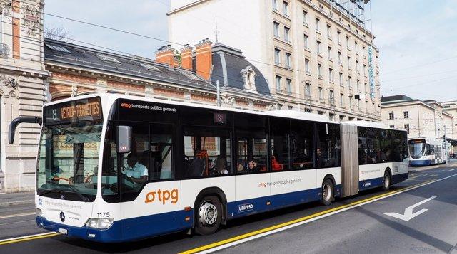 Alsa se adjudica dos líneas de transporte urbano de Ginebra