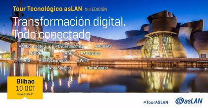 Multinacionales del sector tecnológico compartirán en el foro ASLAN de Bilbao sus claves para la transformación digital