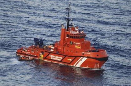 Se elevan a 450 los rescatados este lunes al hallar dos pateras más en Estrecho y Alborán con 125 inmigrantes
