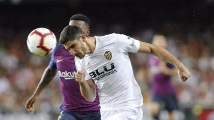 Guedes sufre una distensión muscular y no se concentrará con Portugal
