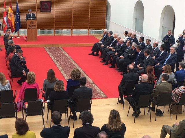 Lesmes en el acto en Burgos 8-10-2018