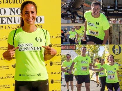 Pedro Sánchez y Begoña Villacís, así corrieron por las mujeres y por sus hijas