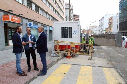 Cs exige compensaciones y campañas para ayudar a comerciantes afectados por obras del metro en Callejones del Perchel