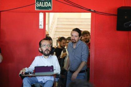"""La dirección de Podemos agradece a Ruiz-Huerta su """"elegancia"""" al dimitir"""