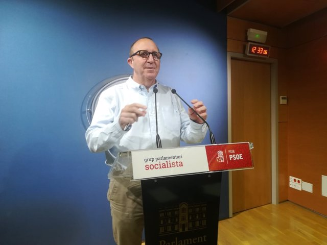 El portavoz del PSIB en el Parlament, Andreu Alcover
