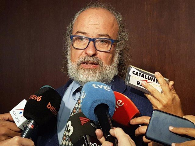 El comisionado de Seguridad de Barcelona, Amadeu Recasens