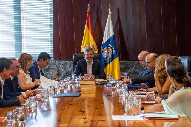 Consejo de Gobierno del Ejecutivo de Canarias