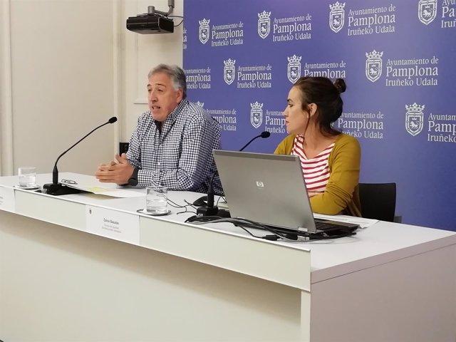 Joseba Asiron y Zaloa Basabe.
