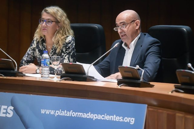 Tomás Castillo en II Congreso Plataforma Organizaciones Pacientes