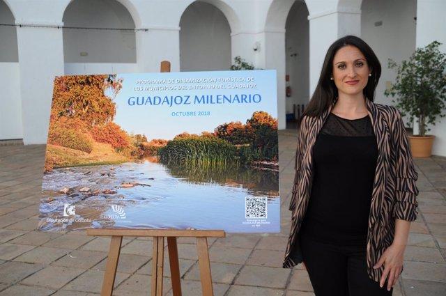 Gómez presenta 'Guadajoz Milenario'