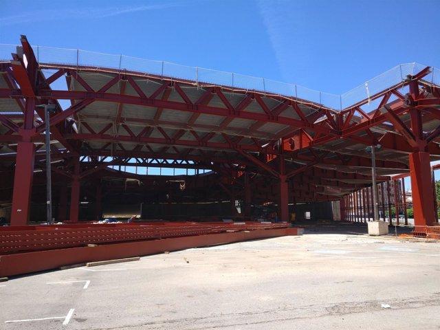 Obras nueva estación de autobuses de Logroño