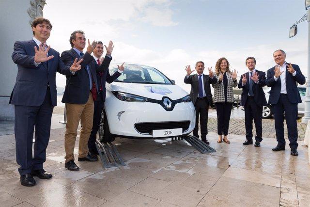 El Puerto de Santander celebra su coche 7 millones