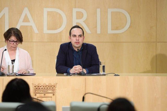 El concejal de Urbanismo de Madrid, José Manuel Calvo