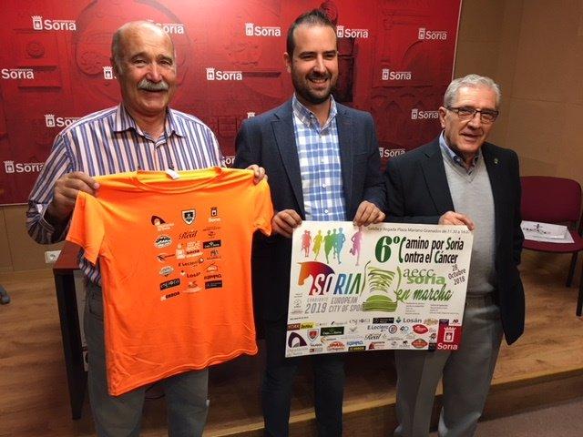 José Miguel Serrato, Ángel Hernández y Fernando Ligero.