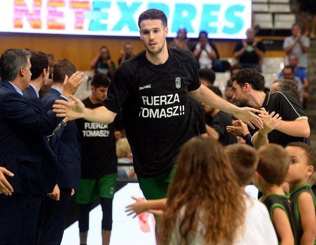 El jugador del Joventut de Badalona Xabi López-Arostegui