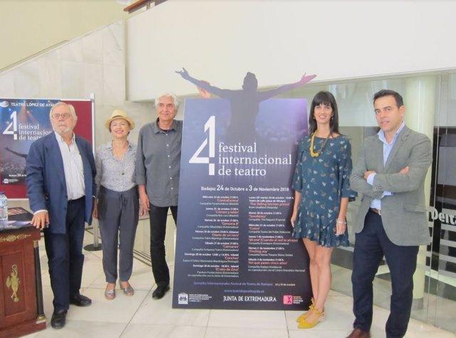 Presentación del Festival de Teatro de Badajoz
