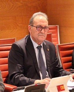 El senador del PP por Murcia, Pedro José Pérez