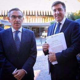 Luis María Beamonte y José Antonio Bermúdez de Castro.
