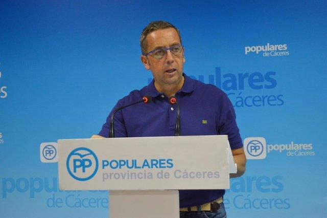 [Cáceres] Nota De Prensa, Cortes De Auido Y Foto (Pp Situación Sanitaria Provinc