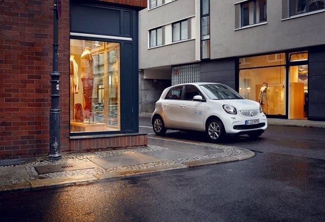 Vehículo eléctrico de Car2go